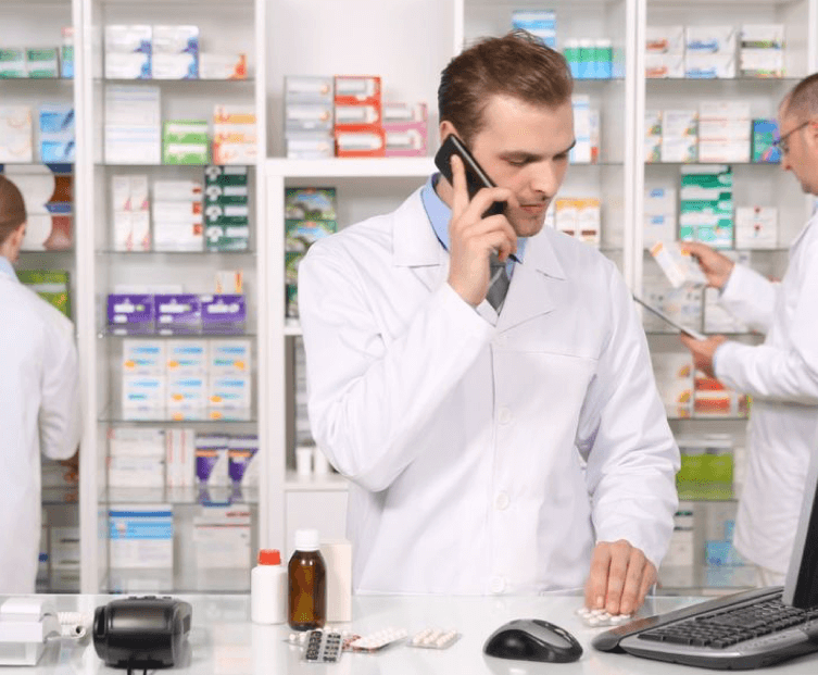 Order management system in pharmacy