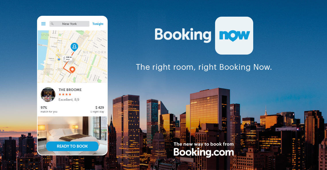 Hotels on Tap | Here's How Booking.com is Leveraging the On-Demand Economy